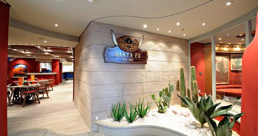 Santa Fe Mexican Restaurant - MSC Splendida